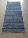 Traditional Handwoven Swedish Rug-Rosengång - picture 1