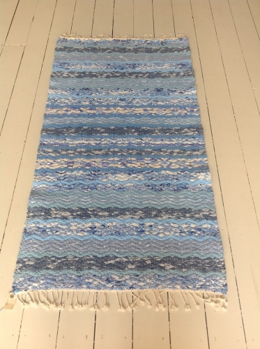 New handwoven Swedish rug