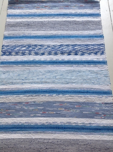 A traditional Swedish Handwoven Rug
