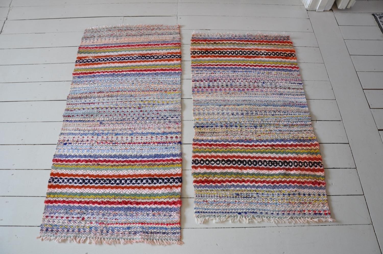 Pair of Vintage Swedish Rugs
