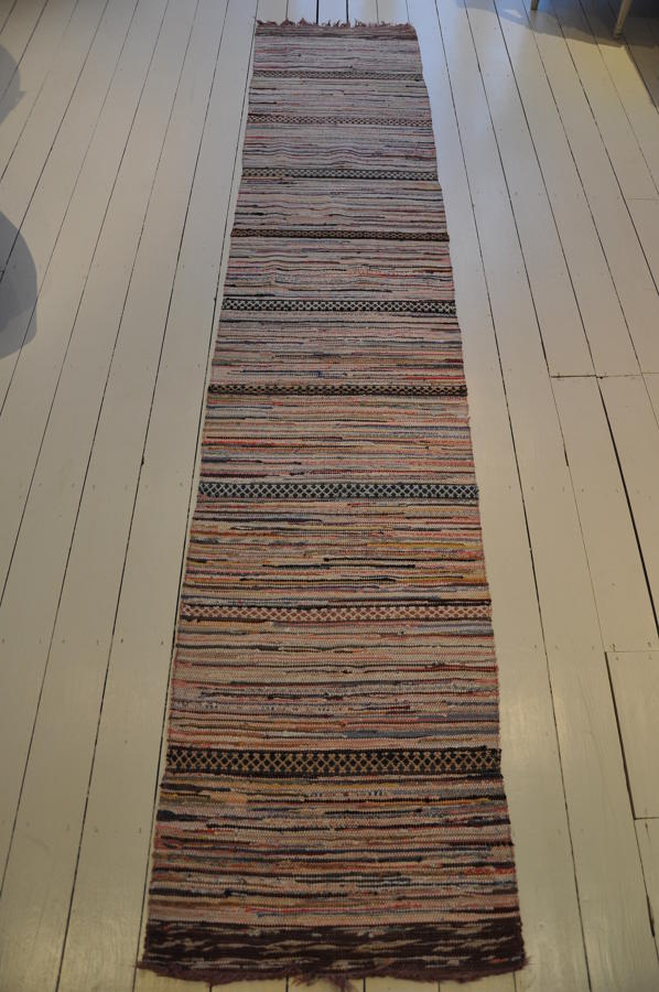 Handwoven Vintage Swedish Rug