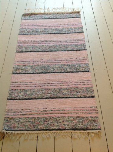 Traditional Swedish Handwoven Rug