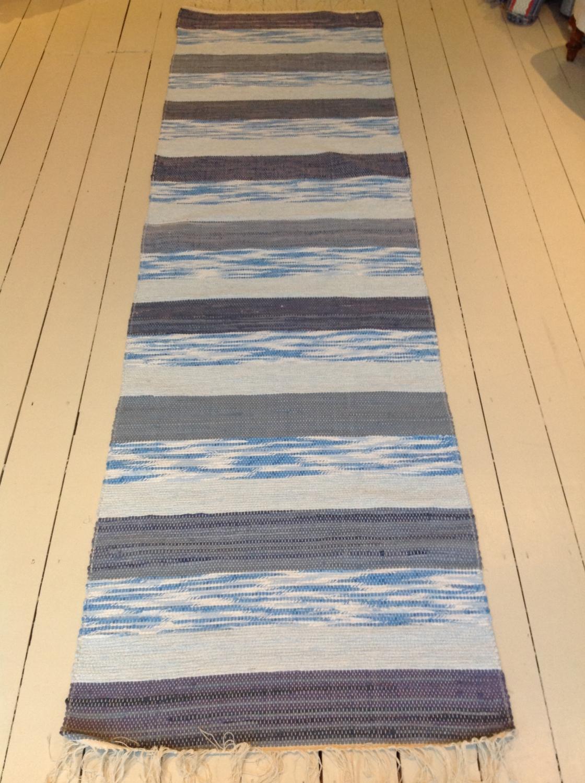 Traditional New Swedish Handwoven Rug