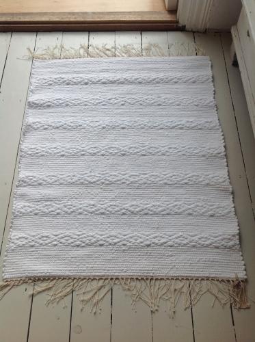 Traditional Handwoven Swedish Rug