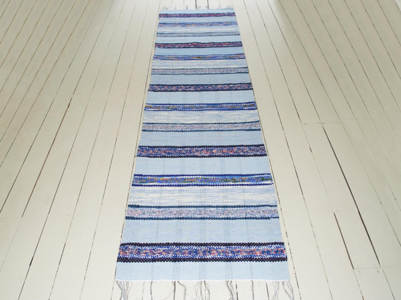 A Traditional Handwoven Swedish Rug