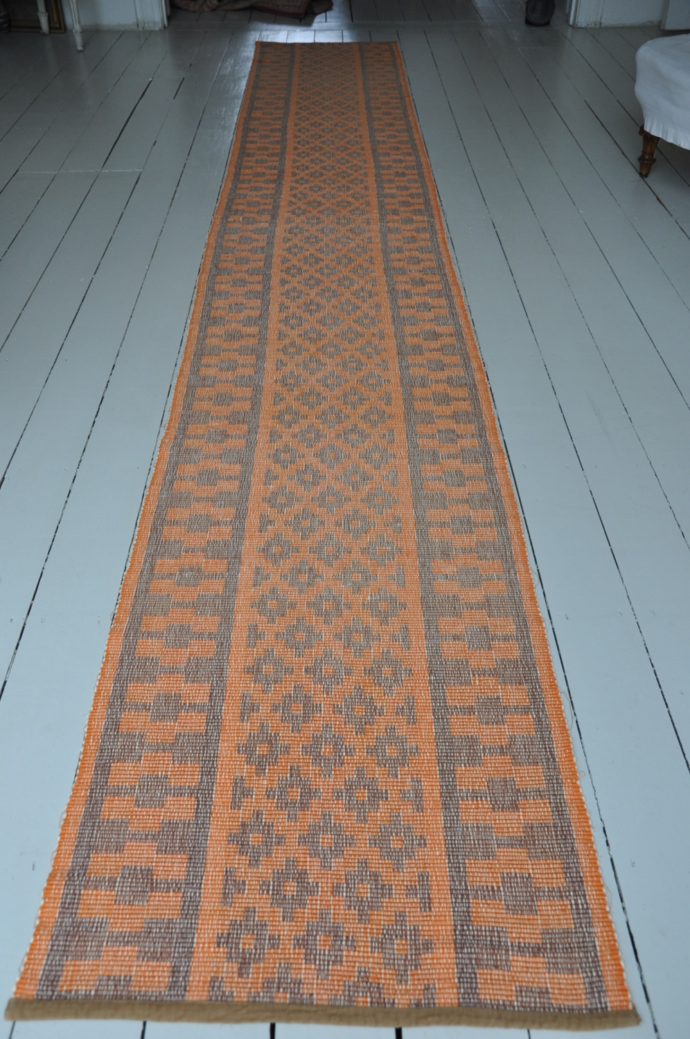 A Gorgeous Handwoven Swedish Rips Rug