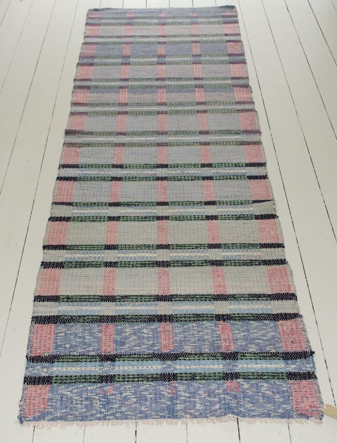A Handwoven Swedish Rug - Circa 1950