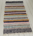 An unusual Handwoven Swedish Rug - picture 1