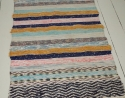 An unusual Handwoven Swedish Rug - picture 2