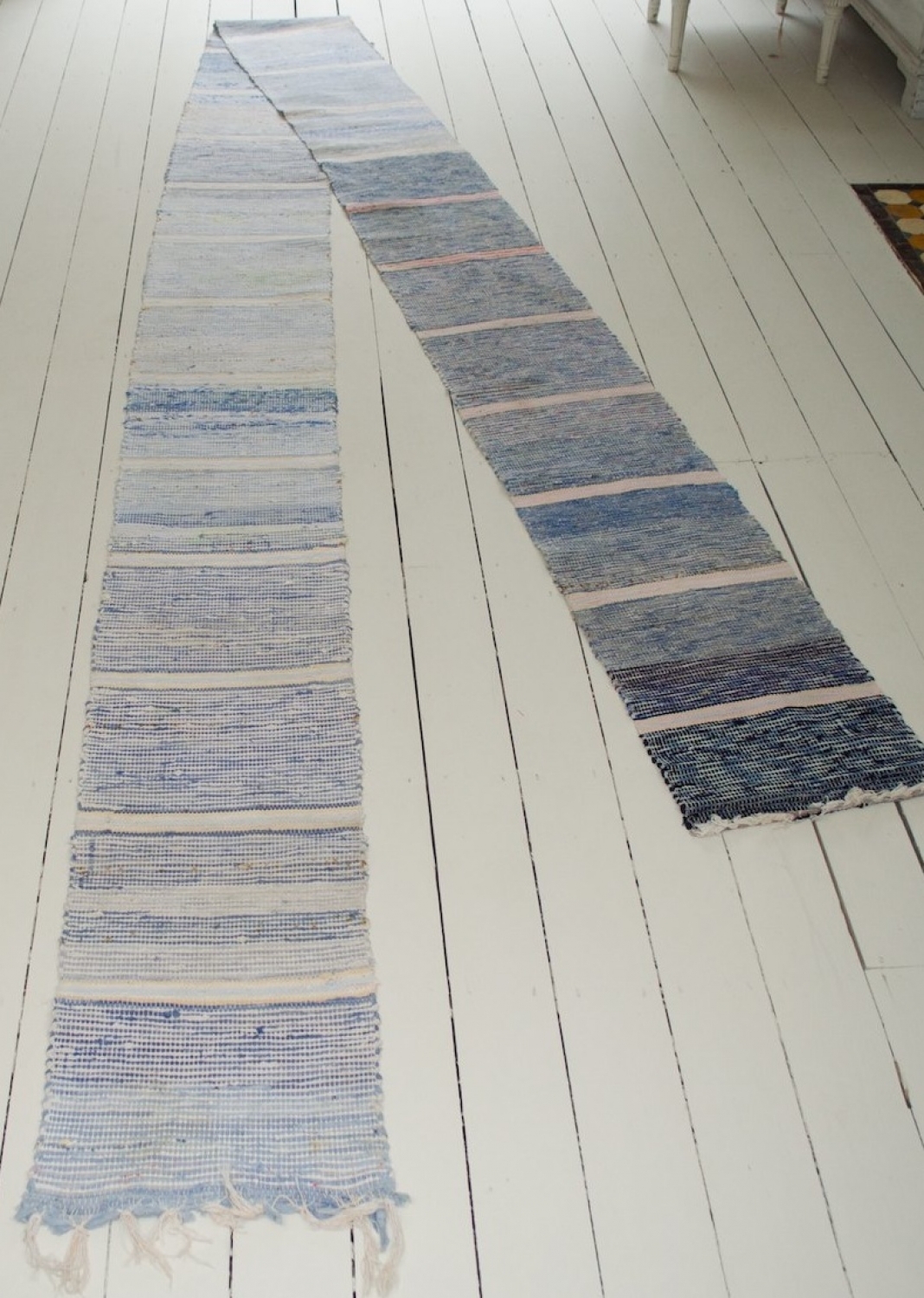A Gorgeous Swedish Handwoven Rug - Roll