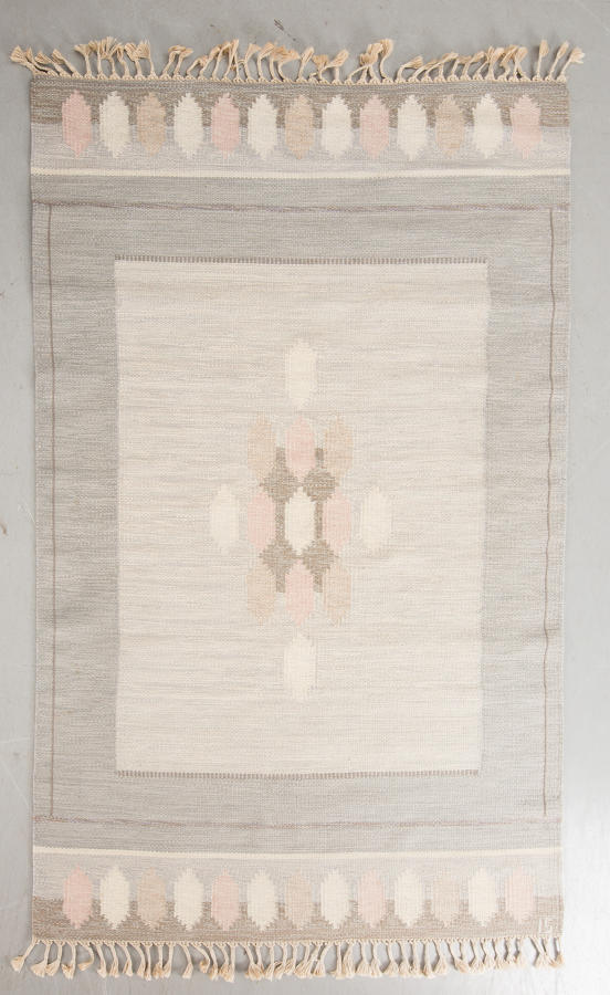 A Swedish Flat Weave Rug by Ingegerd Silow