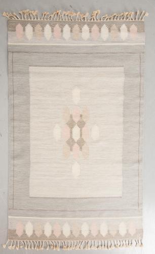 A Swedish Flat Weave Rug by Ingegerd Silow