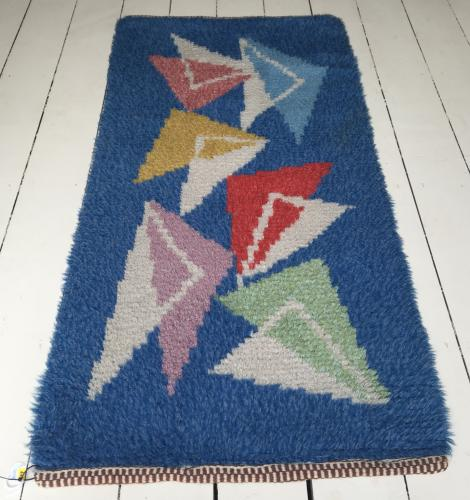 1950's Swedish Hand knotted