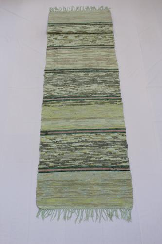 Swedish Handwoven Rug Circa 1950's
