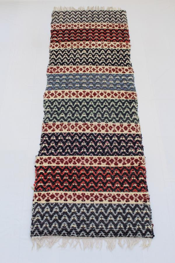 Mid C20th Swedish Handwoven Rug