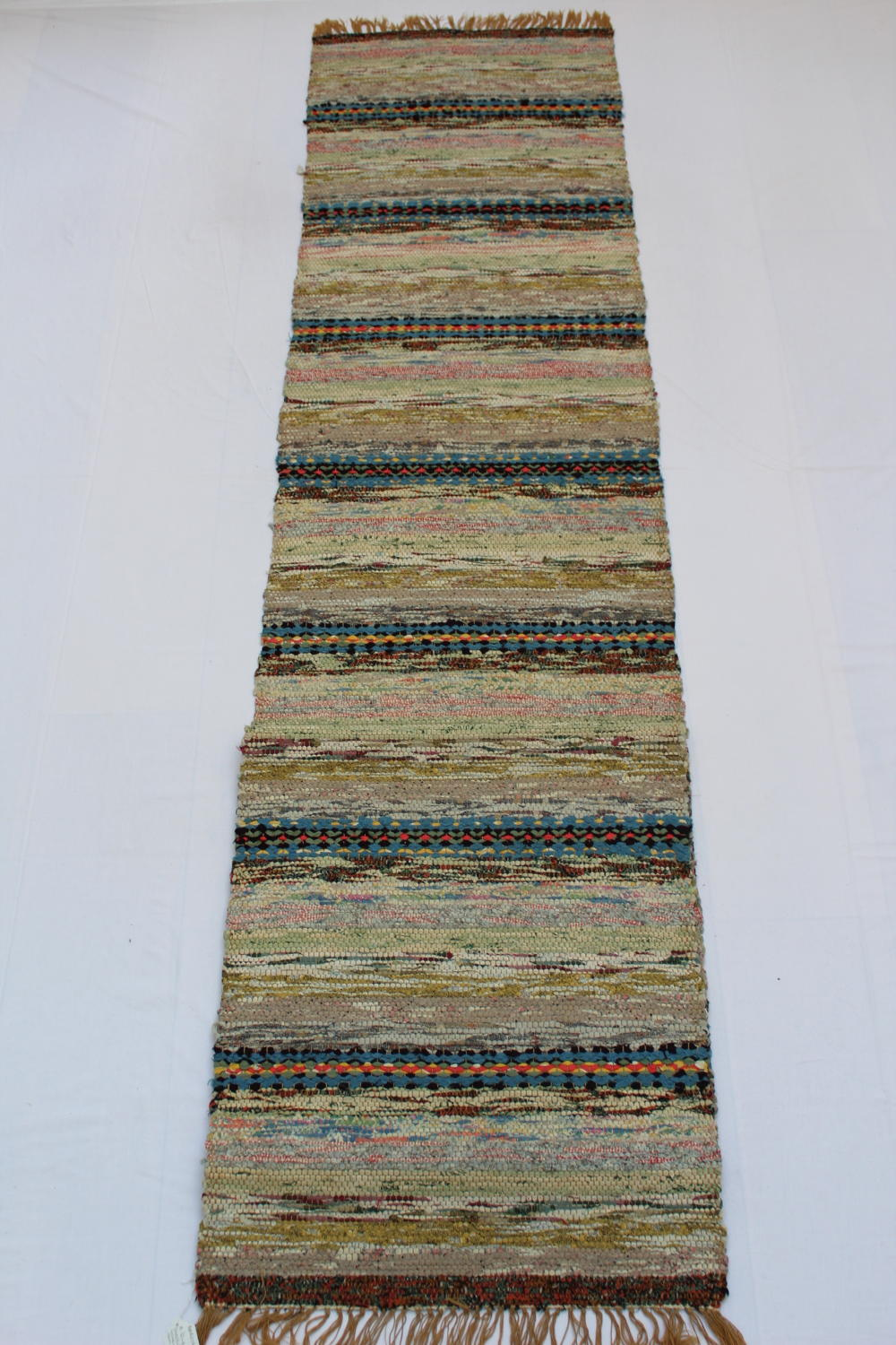 Traditional Swedish Handwoven Rug Circa 1960's