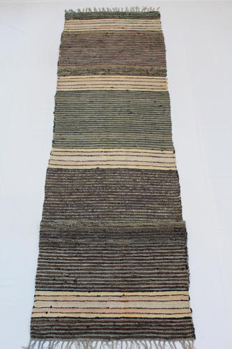 Swedish Handwoven Rug Circa 1940's
