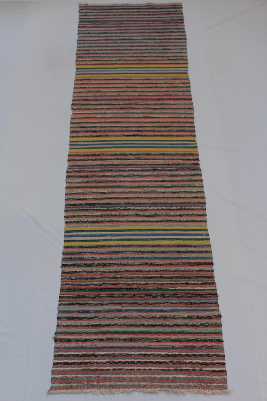 Swedish Retro Handwoven Rug